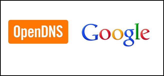 اضافه کردن OpenDNS و یاGoogle DNS برای سرعت بخشیدن به مرور وب سایت ها