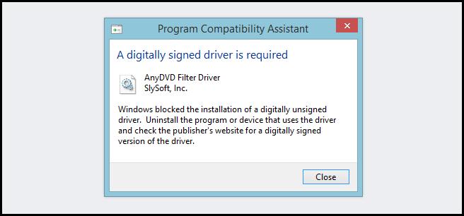 غیر فعال کردن درایور امضا امنیتی در ویندوز 64 بیتی در ویندوز 8.1