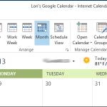 00 lead image google calendar outlook 150x150 اضافه کردن تعطیلات به تقویم شما در Outlook 2013