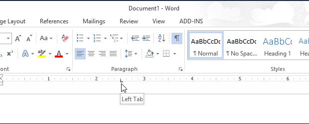 تغییر واحد خط کش اندازه گیری ruler در Word 2013