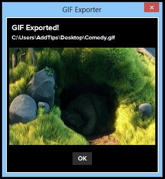 GIF-Exporter