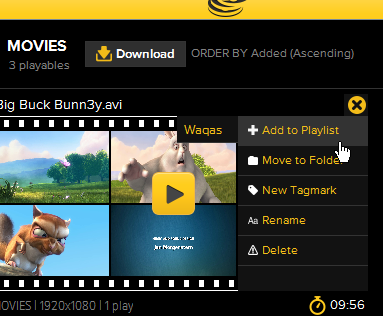 MoviePile نرم افزاری برای پخش ویدئو و GlF