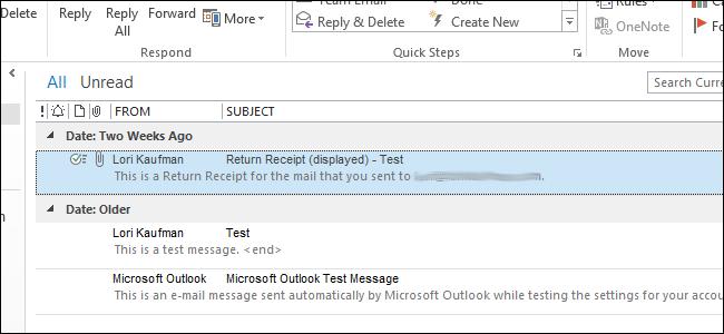 تغییر اندازه فونت مورد استفاده در لیست پیام در Outlook 2013