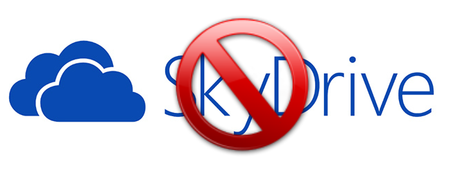 غیرفعال کردن SkyDrive در ویندوز 8.1