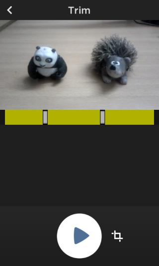 Trim  MixBit:برنامه ای برای اشتراک گذاری ویدئو یوتیوب برای آندروید