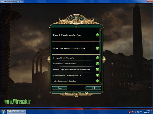 civ5 b دانلود نسخه کامل بازی Civilization V (تمدن 5) 2013