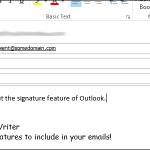 00 lead image create signature 150x150 پشتیبان گیری و بازیابی امضا در Outlook 2013