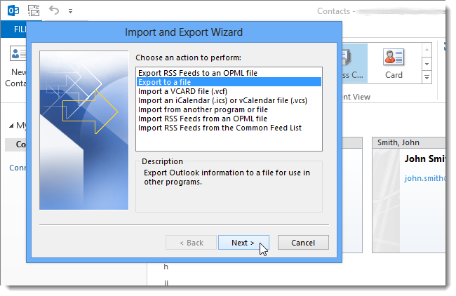 13_selecting_export_to_a_file