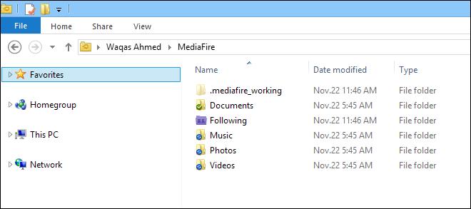 MediaFire_Folder