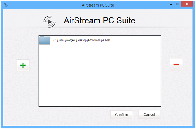 AirStream-PC-Suite