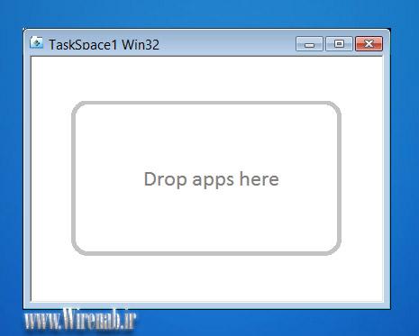 TaskSpace: نرم افزار برای ایجاد گروه برنامه های متعدد با کار زیر یک پنجره