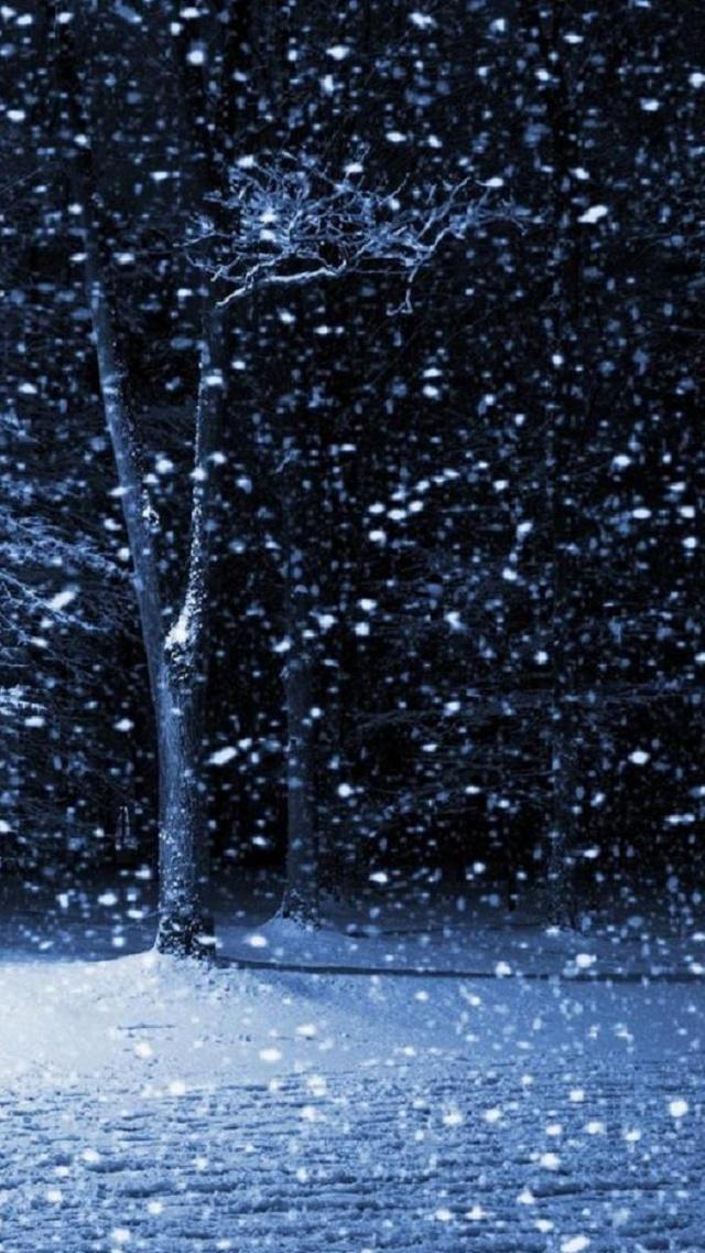 snow مجموعه والپیپر با موضوع زمستان برای iPhone