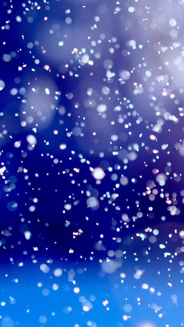 snow1 مجموعه والپیپر با موضوع زمستان برای iPhone