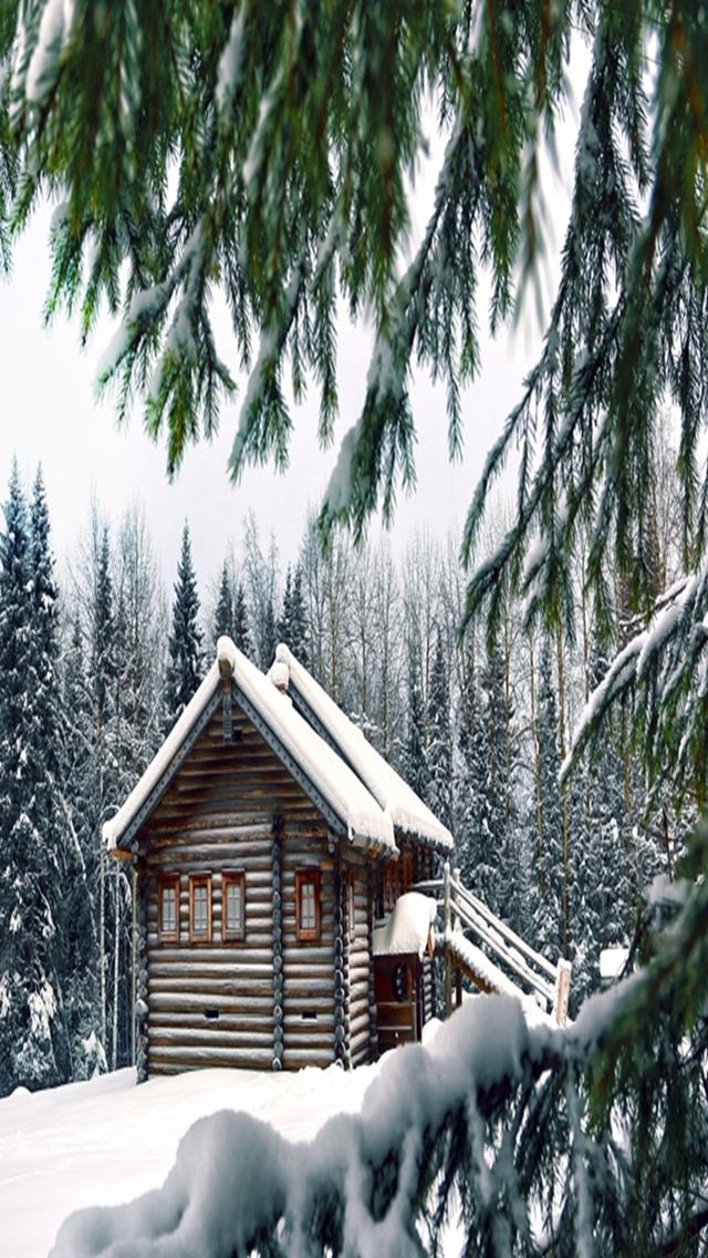 snowy مجموعه والپیپر با موضوع زمستان برای iPhone