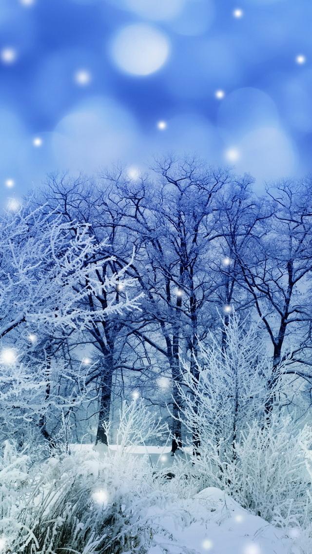 winter مجموعه والپیپر با موضوع زمستان برای iPhone