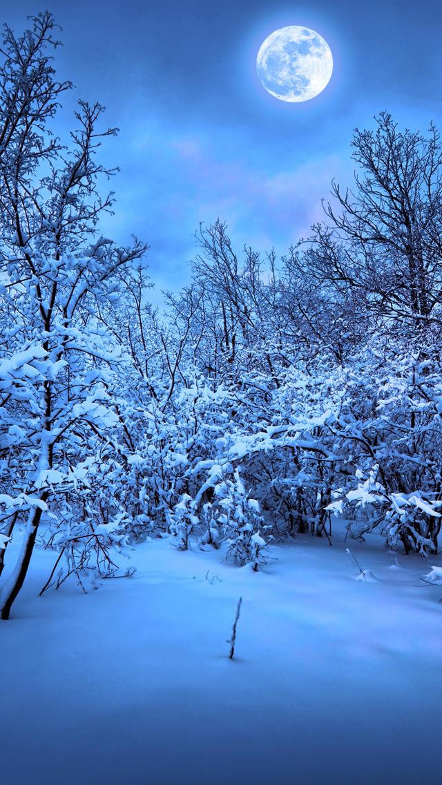 winter snow مجموعه والپیپر با موضوع زمستان برای iPhone