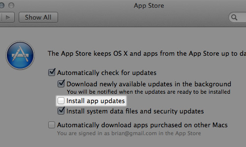 auto update 20 سئوال و جواب درباره سیستم عامل Mac که احتمالا آن را نمی دانید