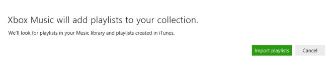 confirmimport وارد کردن فایل لیست پخش آیتونز برای پخش موزیک در ویندوز 8 و 8.1