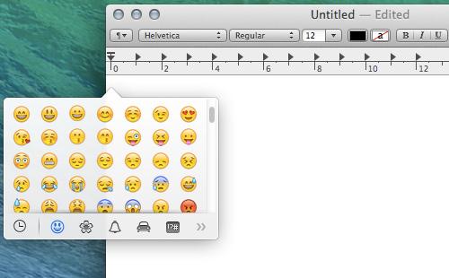 emoji 20 سئوال و جواب درباره سیستم عامل Mac که احتمالا آن را نمی دانید