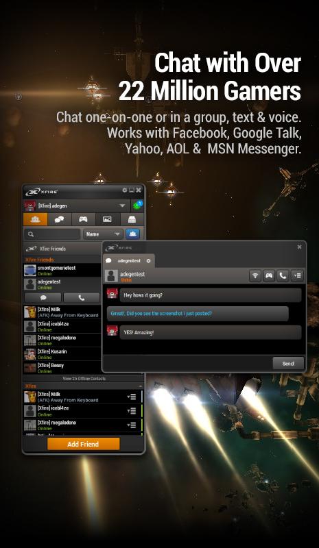 دانلود نرم افزار xfire برای انلاین بازی کردن بازی های سنگین