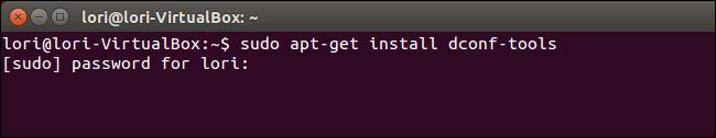 01 installing dconf editor نمایش نوار آدرس مسیر پوشه یا فایل در پنجره برنامه در اوبونتو 14.04