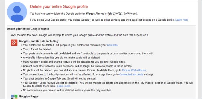 How To Remove Google From Your Google Account 1 چگونه حساب گوگل پلاس را حذف کنیم؟
