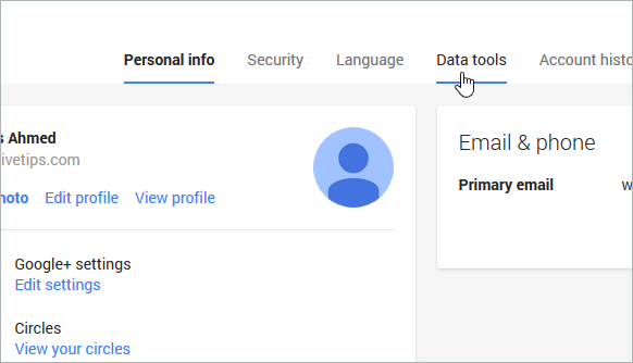 How To Remove Google From Your Google Date چگونه حساب گوگل پلاس را حذف کنیم؟