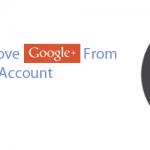remove google plus profile 150x150 ایجاد ایمیل Gmail جدید در Outlook در سیستم عامل Mas OS X
