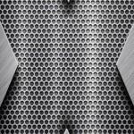 titanium 150x150 مجموعه والپیپر کف فلزی برای آیفون سری 1 (16 عکس)