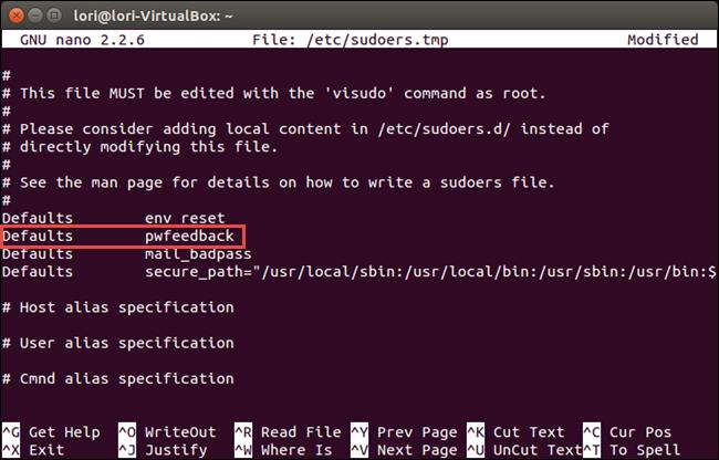 04 env reset line revised separate line چگونه در ترمینال لینوکس پسورد را به صورت ستاره ای نمایش دهیم؟