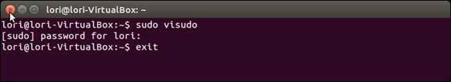 07 closing terminal چگونه در ترمینال لینوکس پسورد را به صورت ستاره ای نمایش دهیم؟