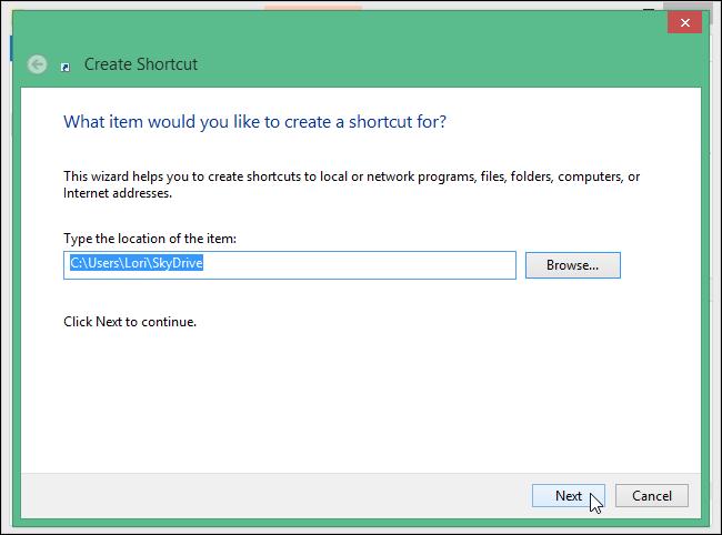 650x482x07 clicking next.png.pagespeed.ic .Wnoj FY5e4 نحوه اضافه کردن OneDrive به منوی زمینه در ویندوز 7 و 8.1