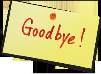 خداحافظ برای همیشه :(