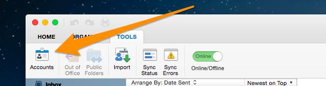 ximg 5453aceb3a060.png.pagespeed.ic .erwA 4cj3u ایجاد ایمیل Gmail جدید در Outlook در سیستم عامل Mas OS X