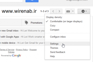21 300x201 اضافه کردن اکانت جیمیل به Outlook 2013 با IMAP