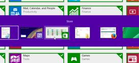 نحوه سویچ بین برنامه ها در Start Screen ویندوز ۸٫۱