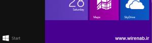 نحوه انتخاب برنامه ها در Start Screen ویندوز 8.1